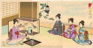 Japanese tea ceremoney